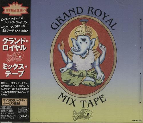 Beastie Boys Grand Royal Mix Tape CD album (CDLP) Japanese BEACDGR131097