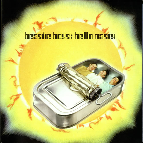 Beastie Boys Hello Nasty 2-LP vinyl record set (Double Album) UK BEA2LHE116186