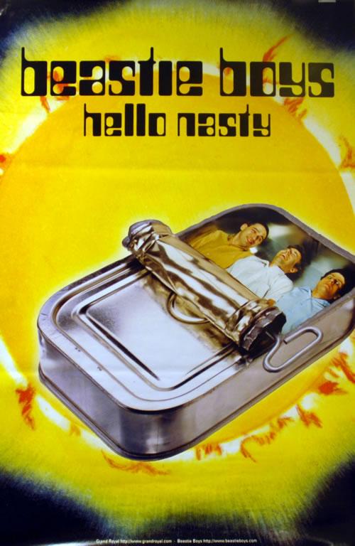 Beastie Boys Hello Nasty poster UK BEAPOHE611752