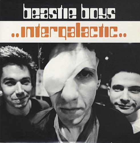"""Beastie Boys Intergalactic - Die Cut Slv 10"""" vinyl single (10"""" record) UK BEA10IN116892"""