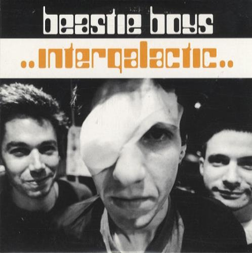 "Beastie Boys Intergalactic CD single (CD5 / 5"") UK BEAC5IN113970"