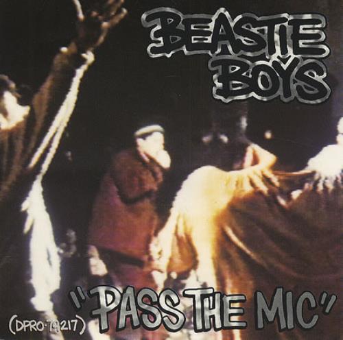 """Beastie Boys Pass The Mic CD single (CD5 / 5"""") US BEAC5PA82133"""