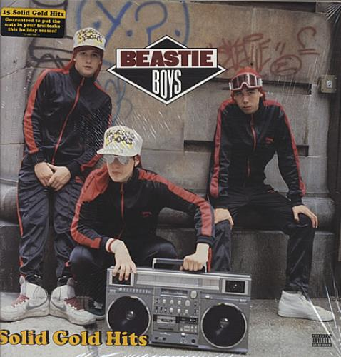 Beastie Boys Solid Gold Hits 2-LP vinyl record set (Double Album) US BEA2LSO343381