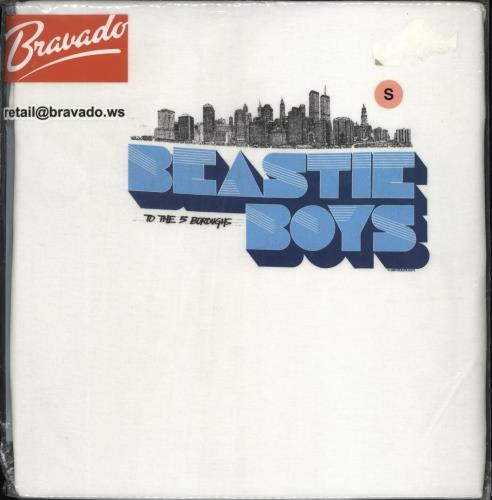 Beastie Boys To The 5 Boroughs T-Shirt - Small t-shirt UK BEATSTO371654