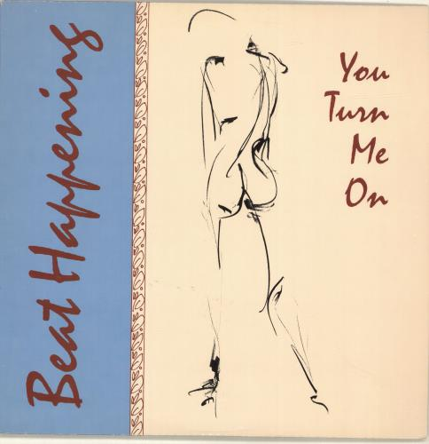 Beat Happening You Turn Me On - Marbled Yellow Vinyl vinyl LP album (LP record) US BHALPYO692058