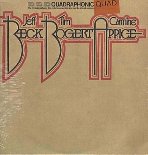 Beck, Bogert & Appice Beck, Bogert, Appice - Quad - Sealed vinyl LP album (LP record) US APILPBE324930