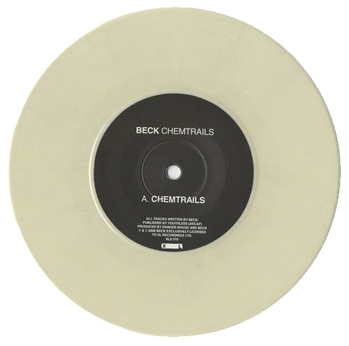 "Beck Chemtrails 7"" vinyl single (7 inch record) UK B-K07CH440000"