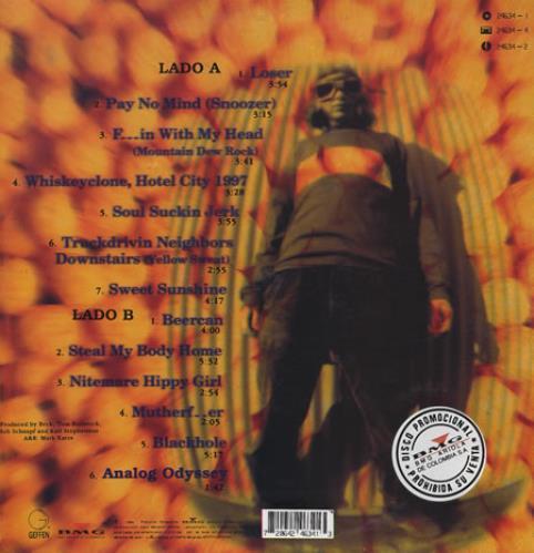 Beck Mellow Gold vinyl LP album (LP record) Colombian B-KLPME374328
