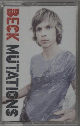 Beck Mutations cassette album US B-KCLMU714053