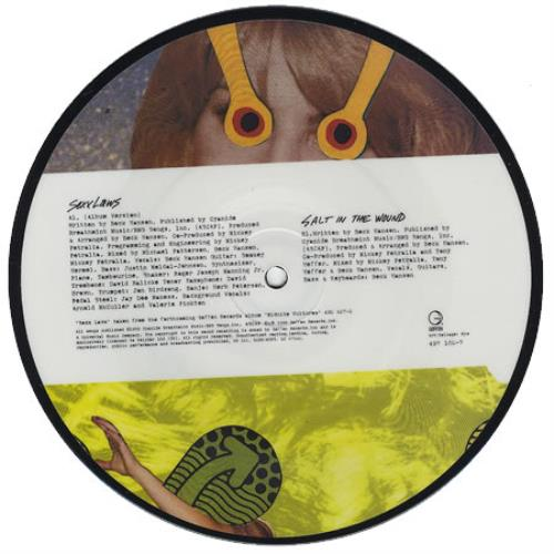 """Beck Sexxlaws 7"""" vinyl picture disc 7 inch picture disc single UK B-K7PSE147759"""