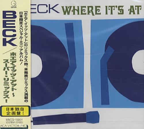 "Beck Where It's At CD single (CD5 / 5"") Japanese B-KC5WH462922"
