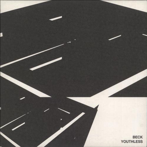 """Beck Youthless - White Vinyl 7"""" vinyl single (7 inch record) UK B-K07YO460151"""