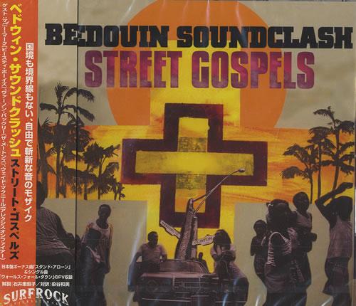 Bedouin Soundclash Street Gospels CD album (CDLP) Japanese UINCDST465901