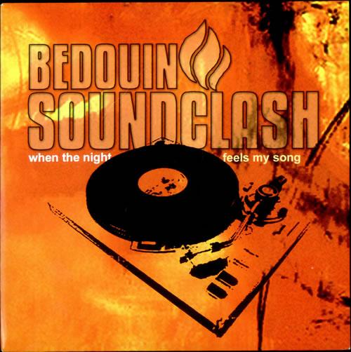 "Bedouin Soundclash When The Night Feels My Song - Orange Vinyl 7"" vinyl single (7 inch record) UK UIN07WH500835"