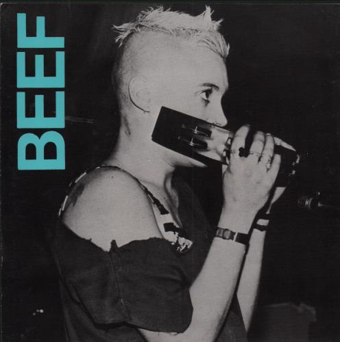 "Beef Lazen Hags 7"" vinyl single (7 inch record) UK IHH07LA654353"