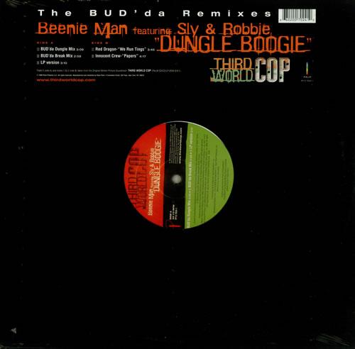 "Beenie Man Dungle Boogie 12"" vinyl single (12 inch record / Maxi-single) US B5Y12DU444717"