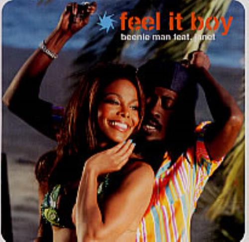 "Beenie Man Feel It Boy CD single (CD5 / 5"") US B5YC5FE225045"
