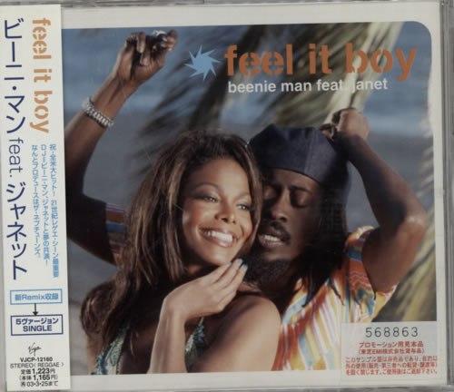 "Beenie Man Feel It Boy CD single (CD5 / 5"") Japanese B5YC5FE255394"