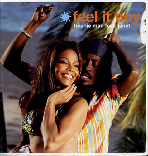 """Beenie Man Feel It Boy 12"""" vinyl single (12 inch record / Maxi-single) US B5Y12FE377410"""