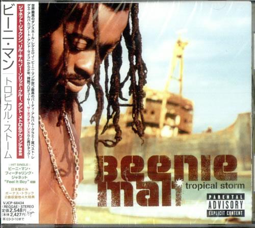 Beenie Man Tropical Storm CD album (CDLP) Japanese B5YCDTR517740