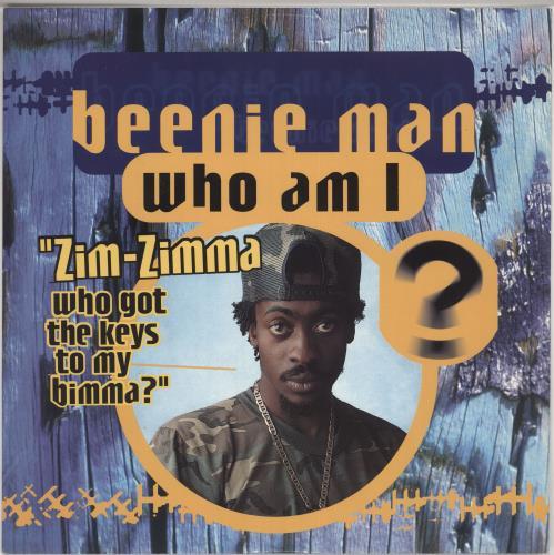 "Beenie Man Who Am I 12"" vinyl single (12 inch record / Maxi-single) UK B5Y12WH728301"