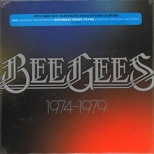 Bee Gees 1974-1979 - Sealed CD Album Box Set UK BGEDXSE638694