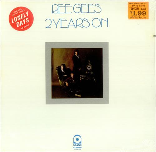 Bee Gees 2 Years On - Sealed & Stickered vinyl LP album (LP record) US BGELPYE451573