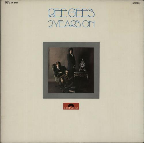 Bee Gees 2 Years On vinyl LP album (LP record) Japanese BGELPYE655431