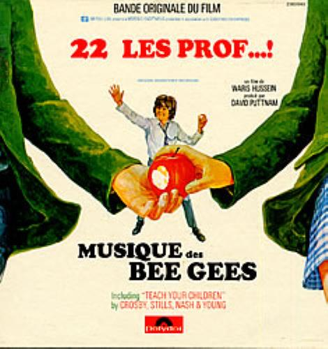 Bee Gees 22 Les Prof...! vinyl LP album (LP record) French BGELPLE95637