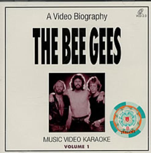 Bee Gees A Video Biography - Music Video Karaoke Volume 1 Video CD Singapore BGEVDAV188224