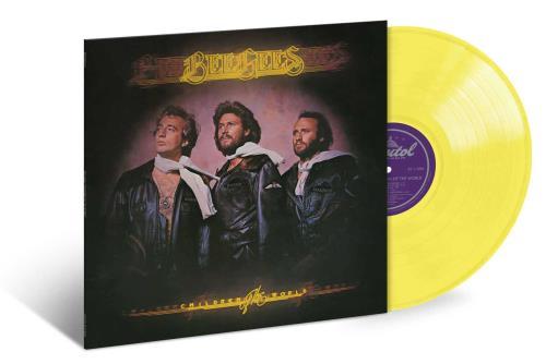 Bee Gees Children Of The World - Yellow Vinyl vinyl LP album (LP record) US BGELPCH749044