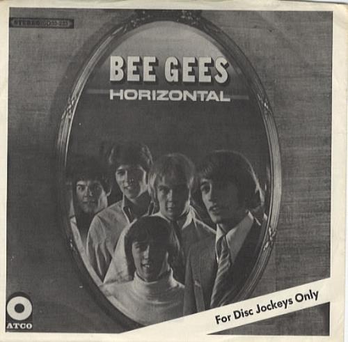 "Bee Gees Excerpts From 'Horizontal' 7"" vinyl single (7 inch record) US BGE07EX333699"