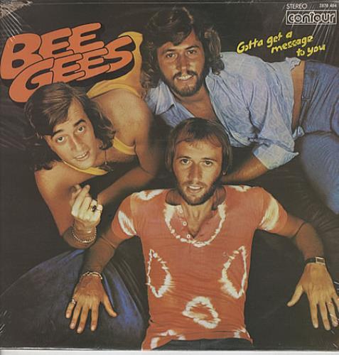 Bee Gees Gotta Get A Message To You vinyl LP album (LP record) UK BGELPGO325056