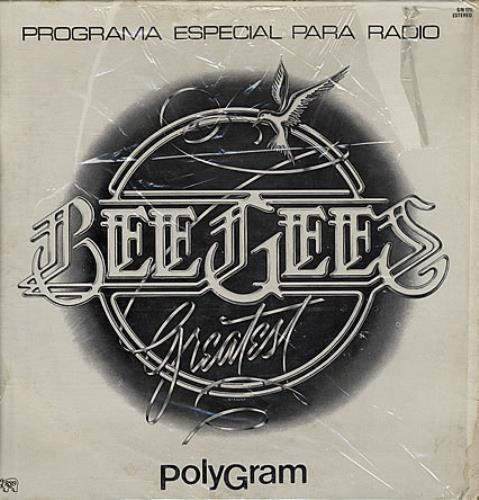 Bee Gees Greatest - Programa Especial Para Radio vinyl LP album (LP record) Mexican BGELPGR388841