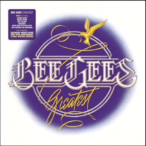 Bee Gees Greatest 2 CD album set (Double CD) UK BGE2CGR415107