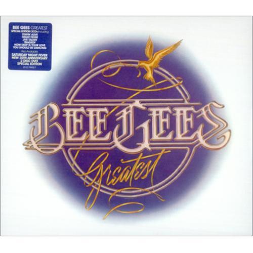 Bee Gees Greatest 2 CD album set (Double CD) UK BGE2CGR415109