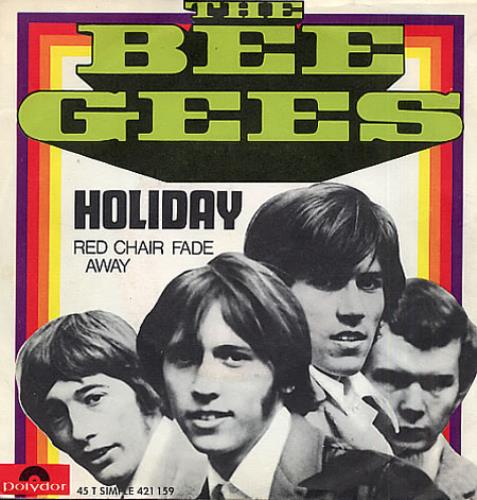 Bee Gees Holiday French 7 Quot Vinyl Single 7 Inch Record