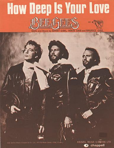Bee Gees How Deep Is Your Love UK sheet music (325684) 141-0-14F