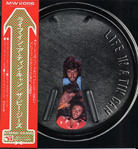 Bee Gees Life In A Tin Can vinyl LP album (LP record) Japanese BGELPLI306897
