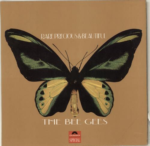 Bee Gees Rare Precious & Beautiful vinyl LP album (LP record) UK BGELPRA219035