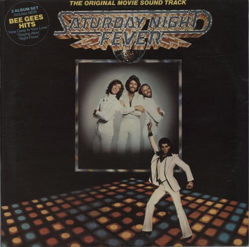 Bee Gees Saturday Night Fever - Silver Vinyl 2-LP vinyl record set (Double Album) Australian BGE2LSA122429