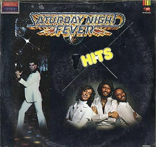 Bee Gees Saturday Night Fever Hits - Sealed vinyl LP album (LP record) Mexican BGELPSA351795