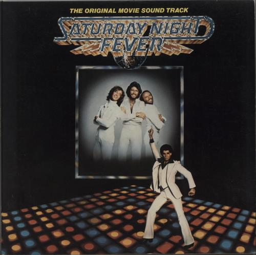 Bee Gees Saturday Night Fever 2-LP vinyl record set (Double Album) UK BGE2LSA158121