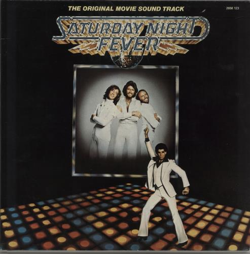 Bee Gees Saturday Night Fever 2-LP vinyl record set (Double Album) French BGE2LSA664626