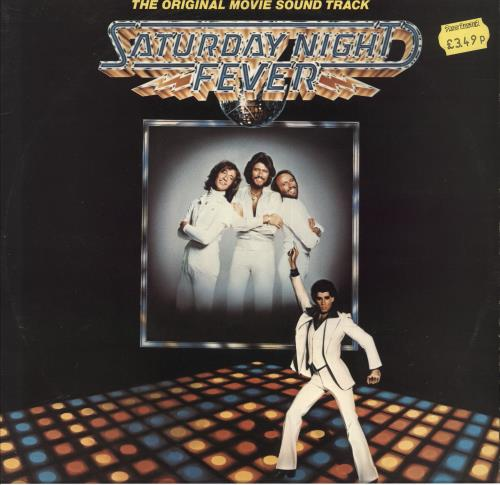 Bee Gees Saturday Night Fever 2-LP vinyl record set (Double Album) Danish BGE2LSA723999