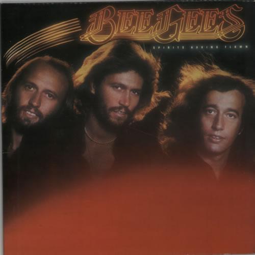 Bee Gees Spirits Having Flown vinyl LP album (LP record) UK BGELPSP256708