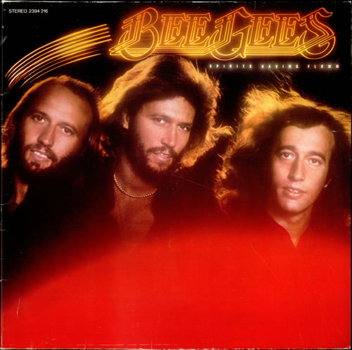 Bee Gees Spirits Having Flown vinyl LP album (LP record) German BGELPSP527391