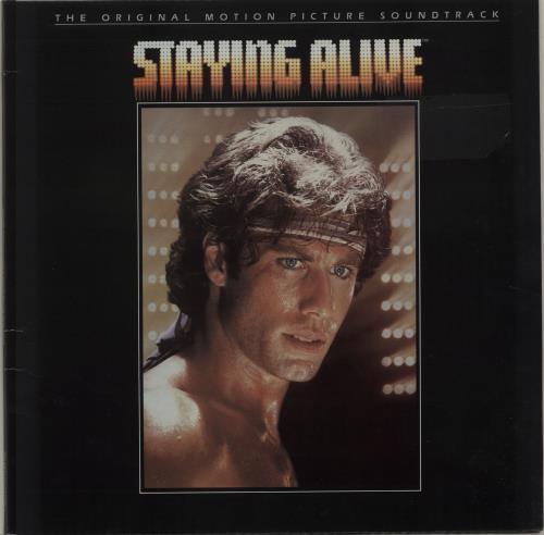 Bee Gees Staying Alive vinyl LP album (LP record) UK BGELPST251161