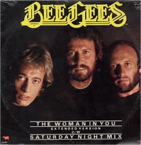 Bee Gees The Woman In You Sealed Mexican 12 Quot Vinyl