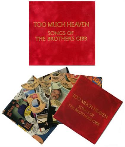 Bee Gees Too Much Heaven - Songs Of The Brothers Gibb 3-CD album set (Triple CD) US BGE3CTO313488